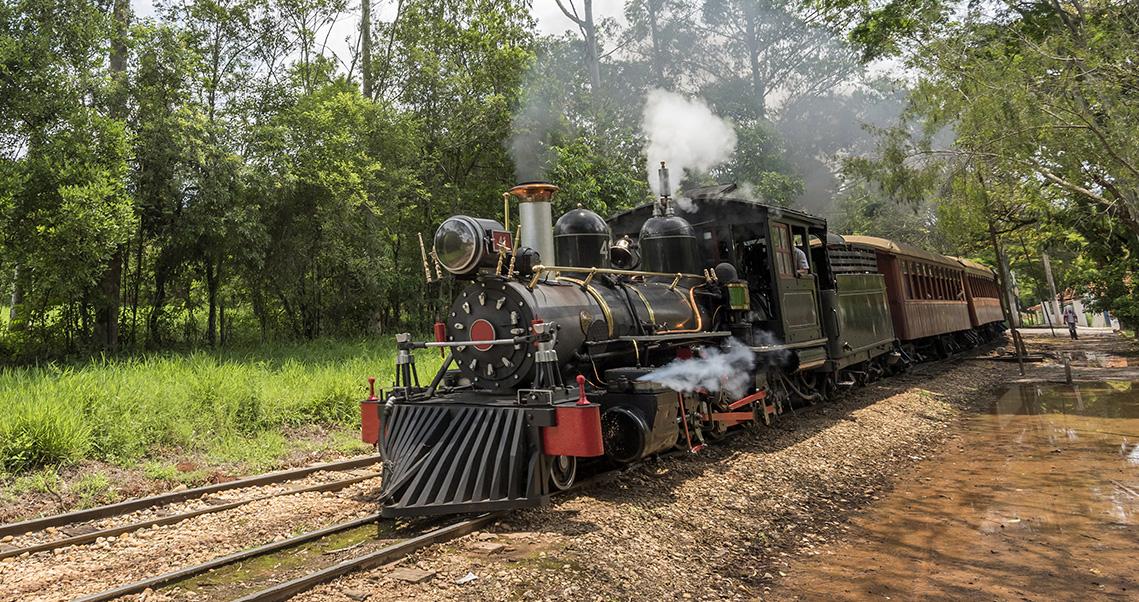 trem maria fumaça em tiradentes